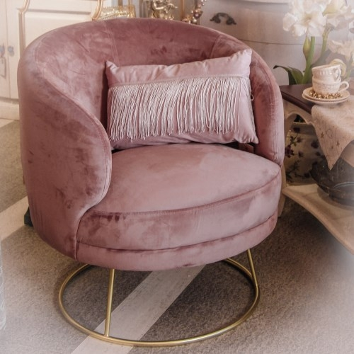 Fotoliu Fancy Pink Blush 78x72x81 cm