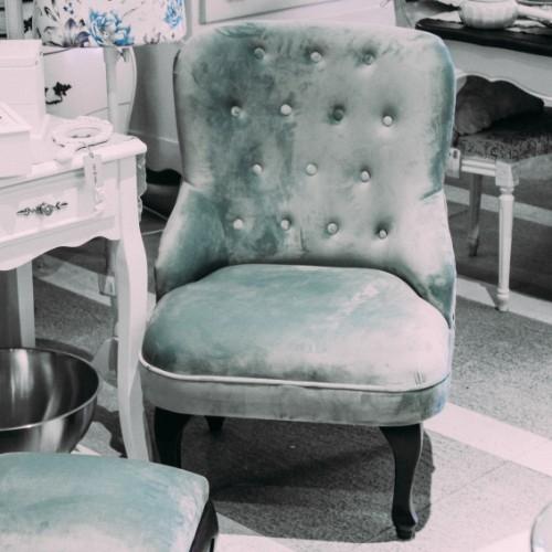 Fotoliu Turquoise 60x70 cm