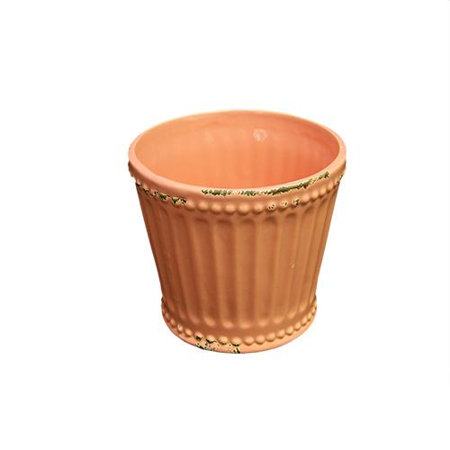 Ghiveci Chic din ceramica corai 9.5 cm