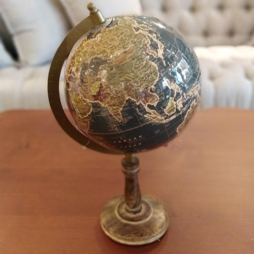 Glob Terra din lemn 32 cm - diverse modele chicville 2021