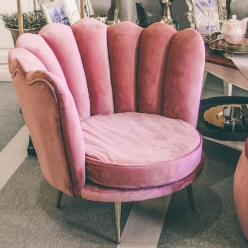 Fotoliu Pink Shell 85x78x73 cm