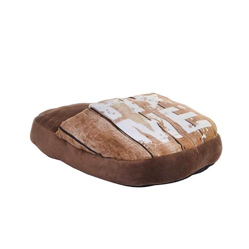Incalzitor de picioare Home din textil maro 32x42x15 cm chicville 2021