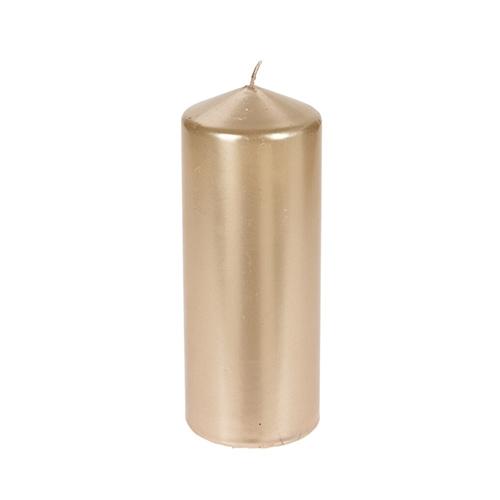Lumanare Gold din parafina 18 cm chicville 2021