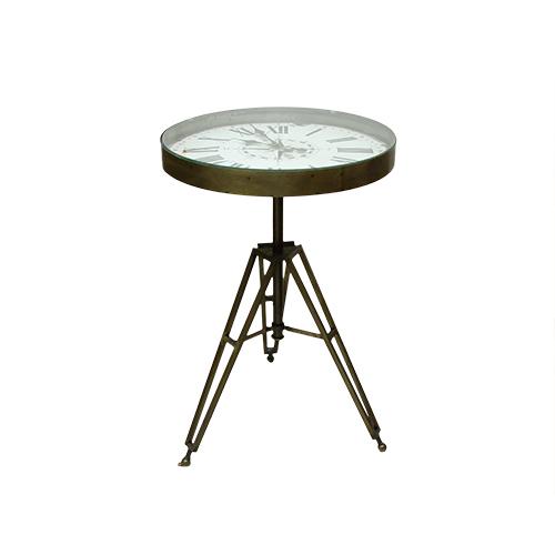 Masa Clock din metal 50x75 cm
