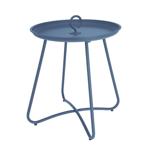 Masuta Hanger din metal albastru 40x46 cm chicville 2021