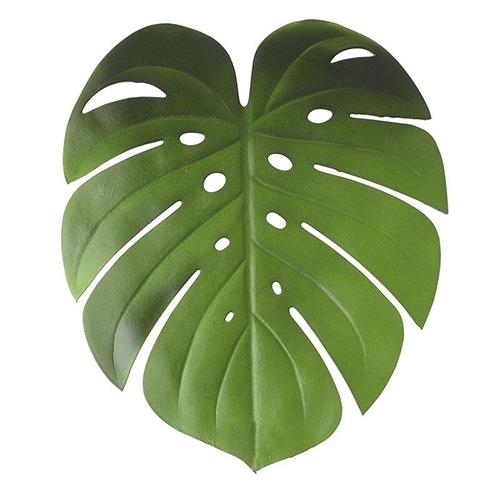 Napron Tropical in forma de frunza verde 46x38 cm chicville 2021