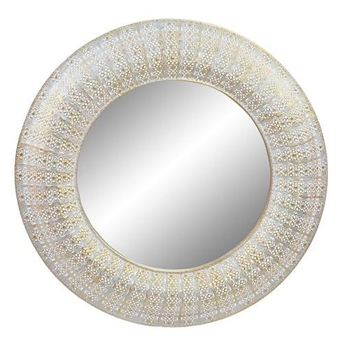 Oglinda Gold din metal 100 cm chicville 2021