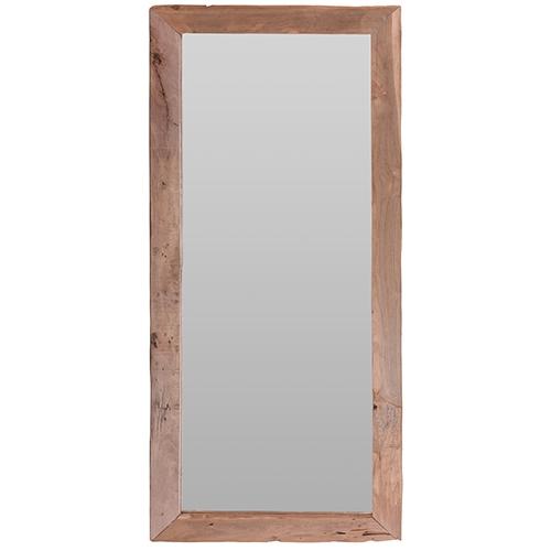 Oglinda Simplicity cu rama din lemn 100x70 cm chicville 2021