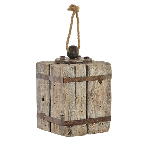 Opritor de usa Old Times din lemn 14x23.5 cm chicville 2021