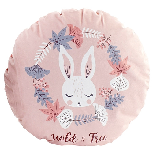 Perna rotunda Rabbit cu ilustratie 40 cm chicville 2021