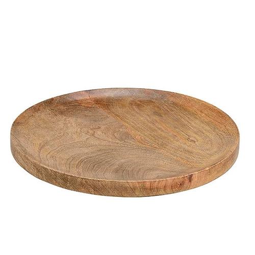 Platou Mango din lemn 30 cm chicville 2021