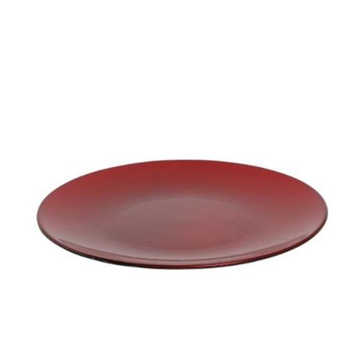 Platou rosu 22 cm chicville 2021