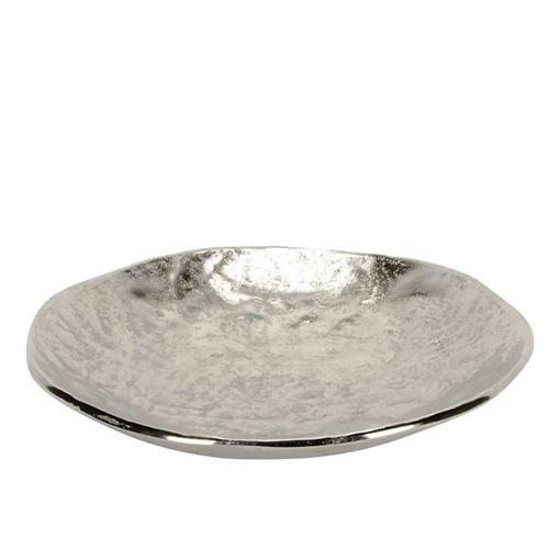 Platou Silver din metal 34x6 cm chicville 2021
