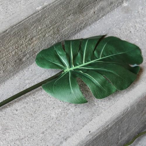 Ramura decorativa Green Leaf 76 cm chicville 2021
