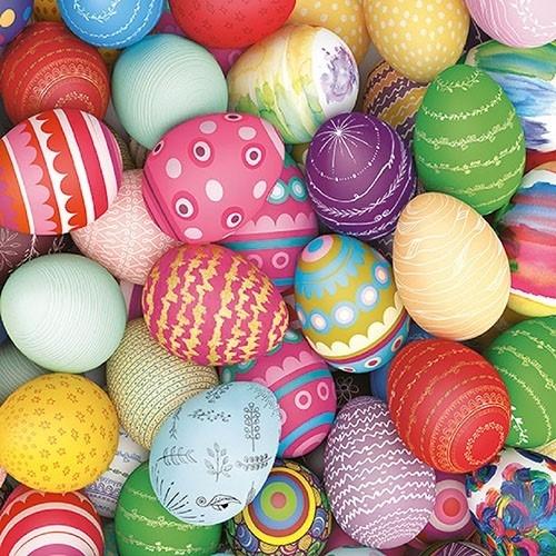 Servetele Colourful Eggs 33x33 cm chicville 2021