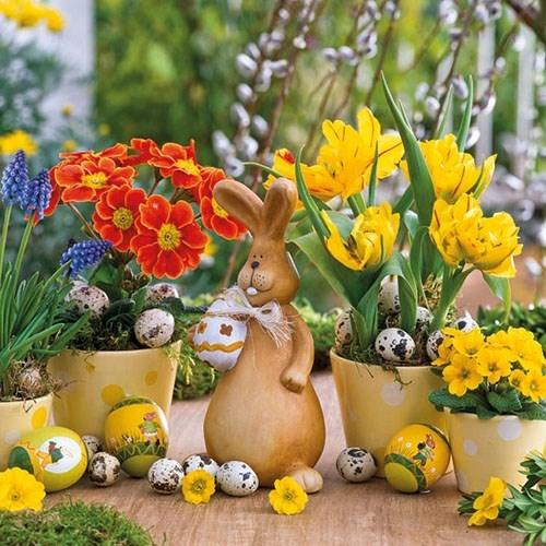 Servetele Easter Spring 33x33 cm chicville 2021