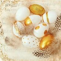 Servetele Golden Egg 33x33 cm chicville 2021