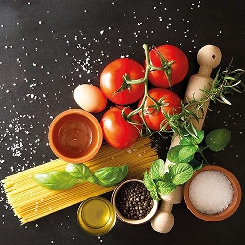 Servetele Italian Food 25x25 cm chicville 2021