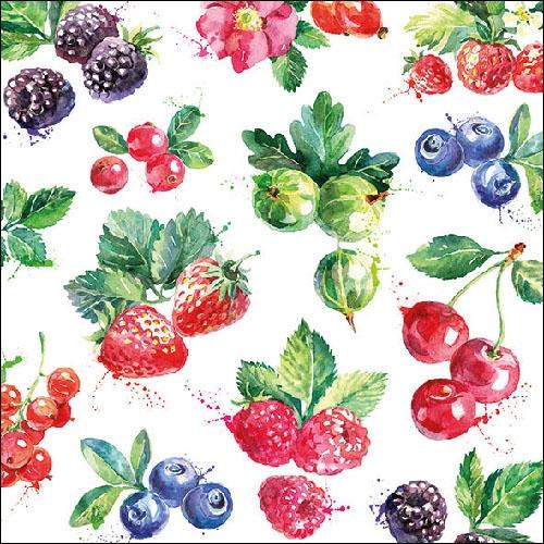 Servetele Summer Fruit 25x25 cm
