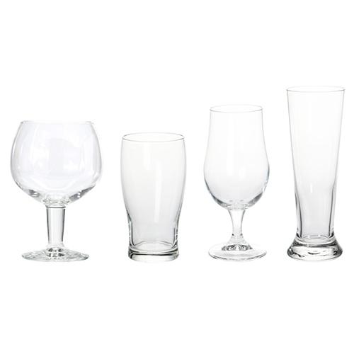 Set 4 pahare din sticla pentru bere chicville 2021