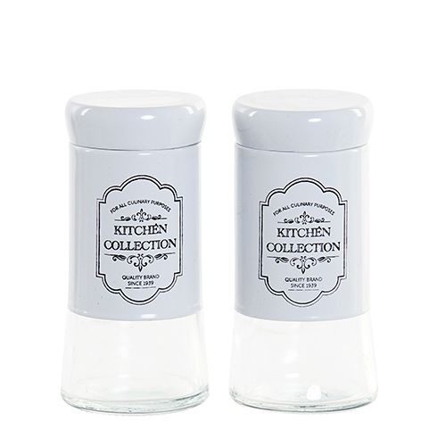 Set cu recipiente pentru sare si piper 11 cm chicville 2021