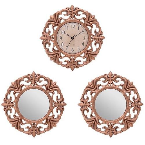 Set decorativ Copper cu 3 piese 25.5x3 cm chicville 2021