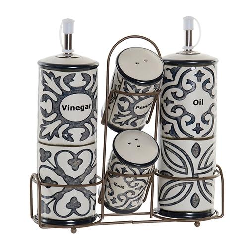 Set oliviera Tiles din ceramica 22 cm chicville 2021