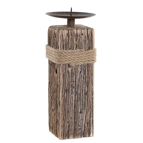 Sfesnic Old Times din lemn de Paulownia 10x25 cm chicville 2021
