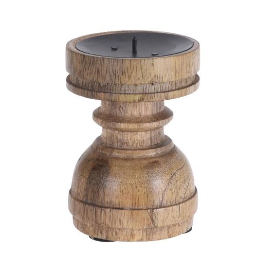 Sfesnic Vintage din lemn 10 cm chicville 2021