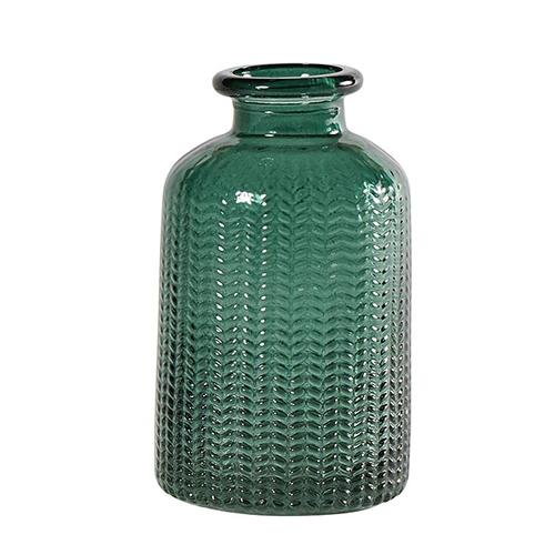 Sticla decorativa Smarald 6x10 cm chicville 2021