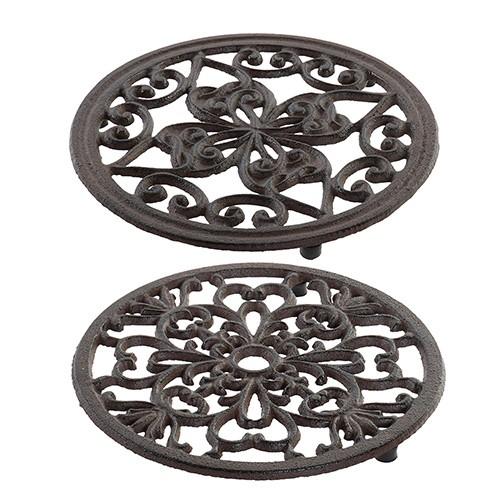 Suport din metal pentru vase fierbinti 18 cm - modele diverse chicville 2021
