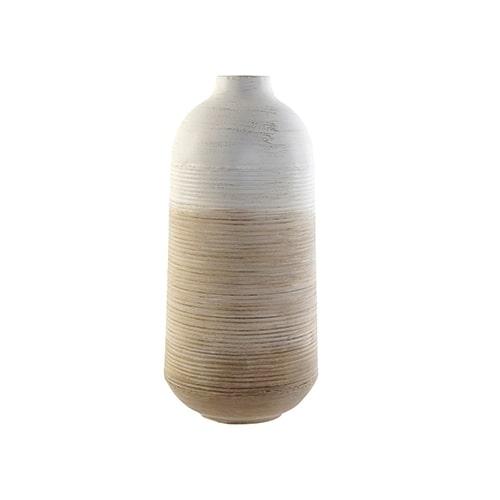 Vaza Gradient din metal bej 40 cm chicville 2021