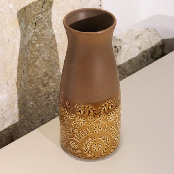 Vaza Porto din ceramica maro 29 cm chicville 2021