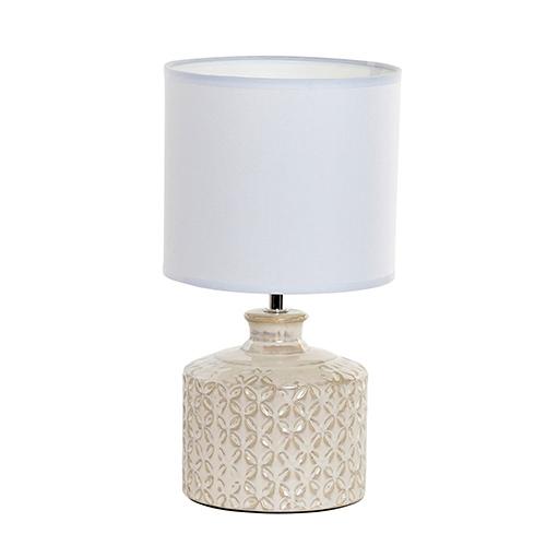 Veioza Delicate Pearl din ceramica 18x33 cm chicville 2021