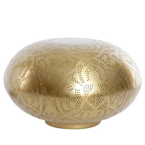 Veioza Golda din metal auriu 40x24 cm chicville 2021