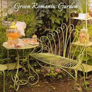 Romantic Garden Green