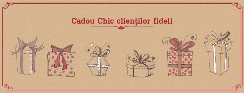 Campania Cutii cadou pentru clientii fideli Chic Ville
